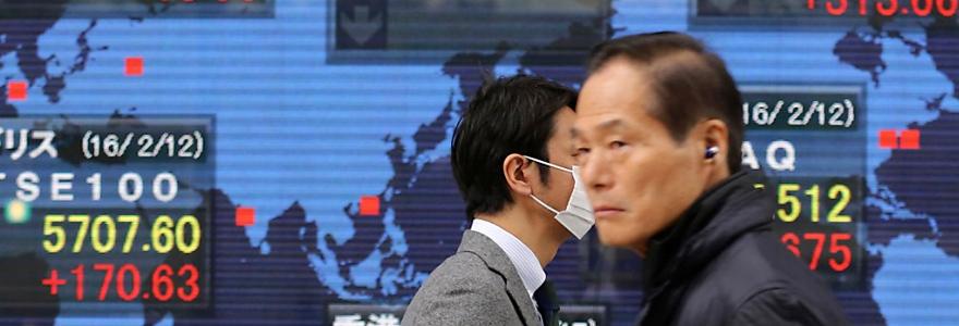 Le Nikkei et le Topix