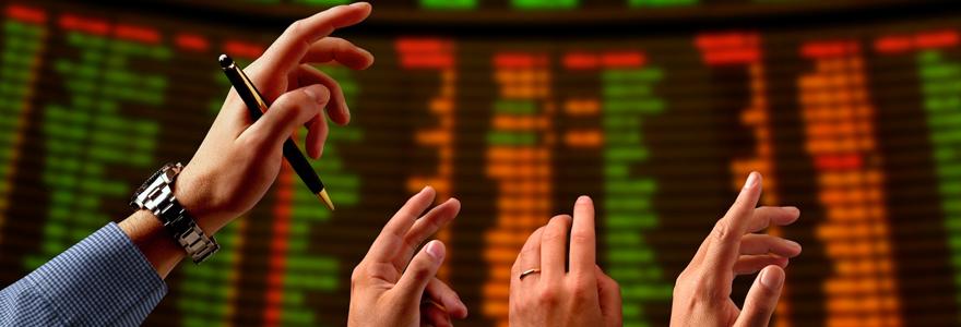 Les valeurs boursières